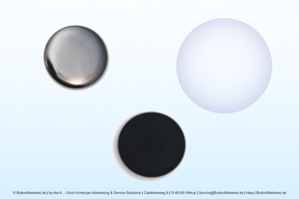 Rohlinge für 37 mm Buttons mit Magnet