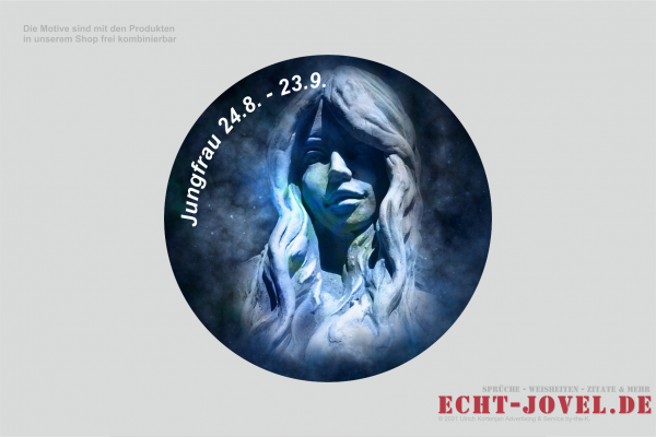 Jungfrau - Sternzeichenmotiv S06