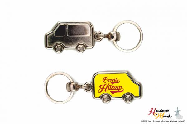 Schlüsselanhänger Fahrzeug - 1-seitig individuell gestaltbar