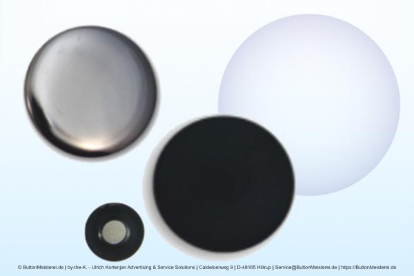 Rohlinge für 56 mm Buttons mit Magnet und Textil-Magnet