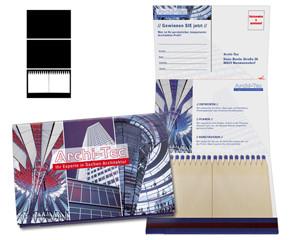 Burning Mail 6 - Zündholzbriefchen mit Postkarte