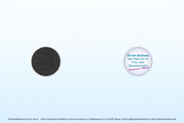 25 mm Button mit Magnet - individuell gestaltbar