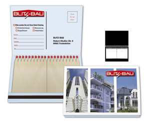 Burning Mail 4 - Zündholzbriefchen mit Postkarte