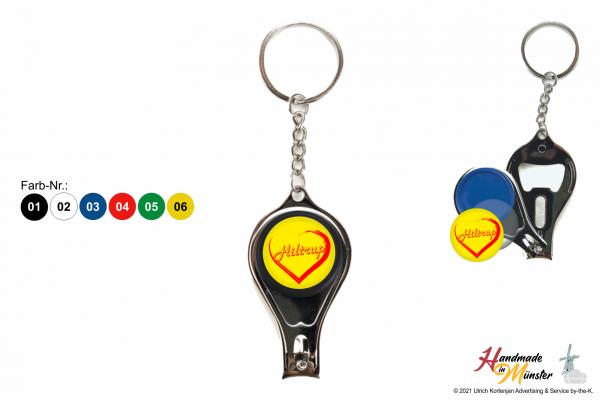 Multitool Schlüsselanhänger - 1-seitig individuell gestaltbar