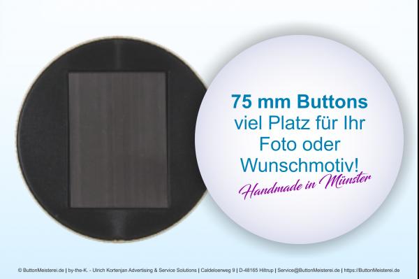 75 mm Button mit Magnet -individuell gestaltbar