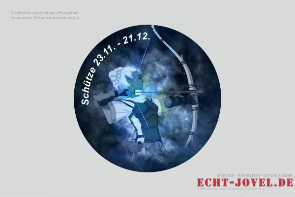 Schütze - Sternzeichenmotiv 09