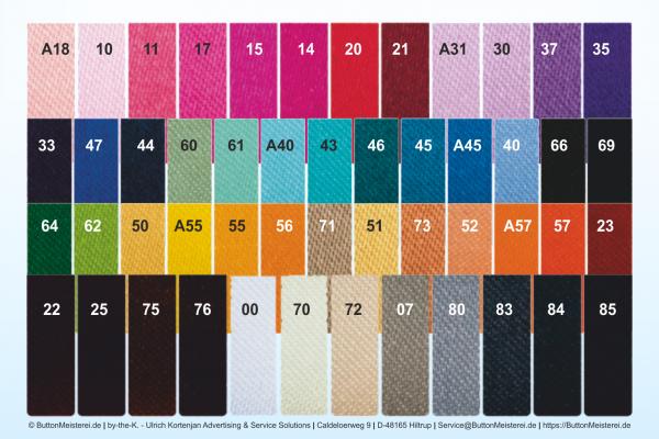 Farbtabelle Rosetten